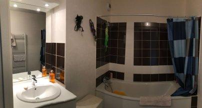 nettoyage de salle de bain